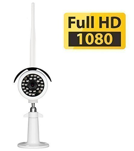 Phylink PLC-335PW Bullet HD1080, 1080P Full HD Waterproof Outdoor Home Wireless IP Security Camera, 6mm Lens