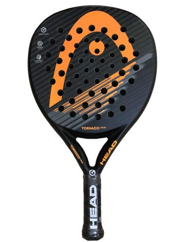 Pala de padel HEAD GRAPHENE TORNADO PLUS NARANJA 2019: Amazon.es ...