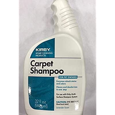 1 X Kirby 235406 Pet Owners Carpet Shampoo (946 ml, 32 U.S. fl oz.) - Use with Kirby Home Care System: Industrial & Scientific