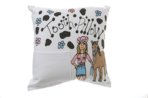 Ear Mitts: Earmitts; Bunnies and Bows Tooth Fairy Pillow - Cowgirl