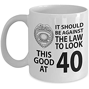 40th Birthday Gift Mug