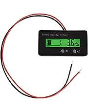 Batterij-indicator, LCD-display achtergrondverlichting, universele waterdichte capaciteit, voltmeter, tester, voltmeter, GY-6S, meerwandige aansluiting
