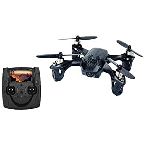 Hubsan H107D X4 Mini RTF Quadcopter with FPV Camera (Black)