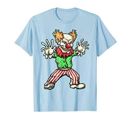 Halloween Evil Clown Costume Shirt Kids, Adults, Women, Men