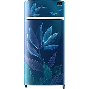 Samsung 198 L 4 Star Inverter Direct-Cool Single Door Refrigerator (RR21T2G2X9U/HL, Paradise Blue)