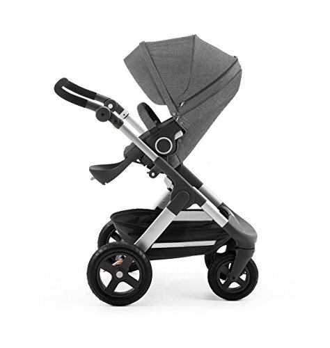 Stokke Trailz with Terrain Wheels, Black Melange