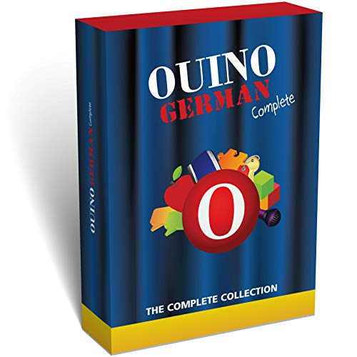Software : Learn German with OUINO: The 5-in-1 Complete Collection (for PC, Mac, iPad, Android, Chromebook) - Redesigned & Expanded v3