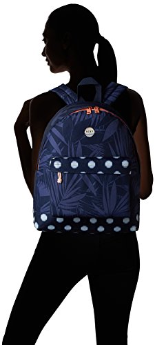 Roxy - Backpack Be Young, Borsa da donna, blu (small ikat dots/combo/peacoat), unica