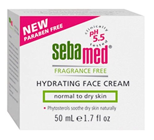 (Sebamed Fragrance-Free Hydrating Face Cream Moisturizer pH 5.5 Dermatologist Recommended 1.7 Fluid Ounces (50 Milliliters))