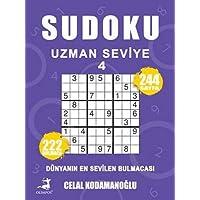 Sudoku Uzman Seviye 4: Dünyanın En Sevilen Bulmacası - 222 Bulmaca