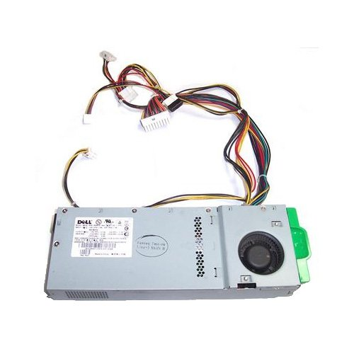 Original Genuine Dell Power Supply 180W For OptiPlex GX60, GX240, GX260 Small Desktop (SD) Part Numbers: 1N405, 4E044 Model Numbers: NPS-180BB, HP-U180F3 by Dell (Image #1)