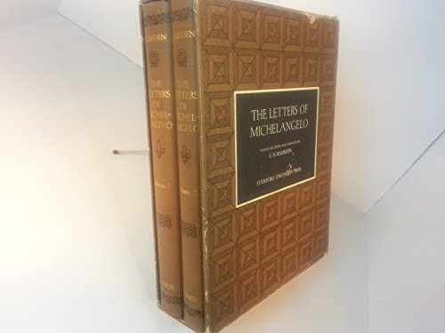 the letters of michelangelo translated from the original tuscan volume 2 1537 1563 only