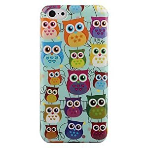 ATQ Cartoon Cute Owls with Hearts Pattern Hard Back Case for iphone 6 4.7