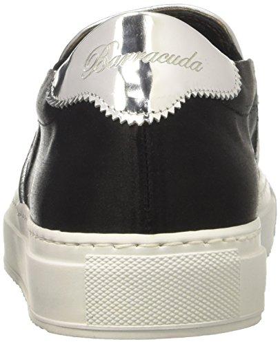 Barracuda Pantofole Bd0583 Collo Donna Nero A Alto wrxwOH46q