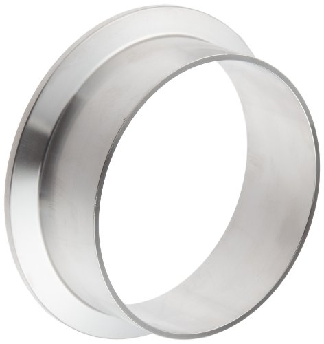 (Dixon L14AM7-G300 Stainless Steel 304 Sanitary Fitting, Long Weld Clamp Ferrule, 3