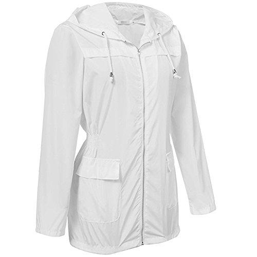 Cappotto dimensione Esterno Wenzhihua Riutilizzabile Da Donna Per Xxl Impermeabile Antipioggia wx8O8nIX