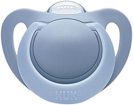 NUK 710102 Genius - 1 chupete de silicona (talla 3): Amazon.es: Bebé