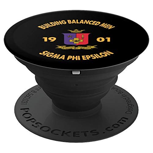 (Sigma Phi Epsilon SigEp Phone Grip - PopSockets Grip and Stand for Phones and Tablets)