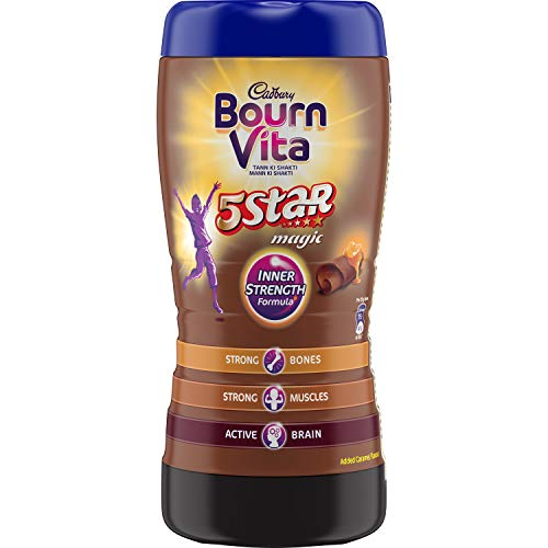 Cadbury Bournvita 5 Star Magic Health Drink 500 gm jar