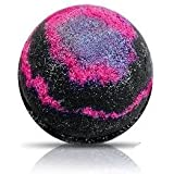 GALAXY Bath Bomb by Soapie Shoppe/ Turns water B L A C K with silver stars!