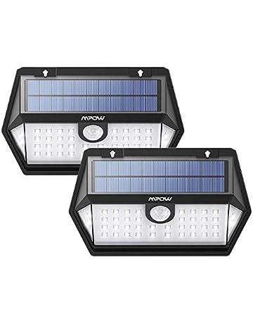 Mpow 40LED Lámpara Solar Exterior, 3 Modos, Memoriar el Modo, Iluminación de 270