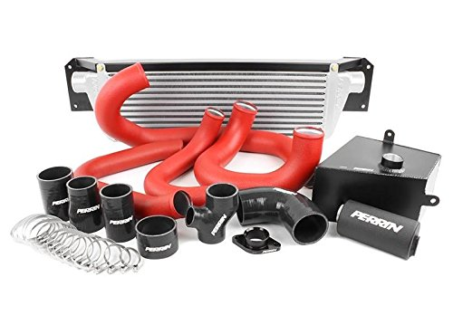 Perrin 2015+ Wrx Fmic Boost Tube Box W/Red Boost Tubes And Black Couplers - Boost Perrin