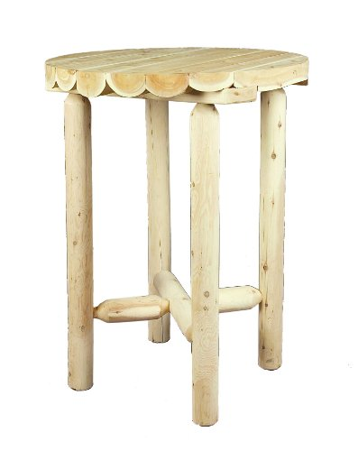 Cedarlooks 110009B Log Pub Table, 32-Inch by Cedarlooks