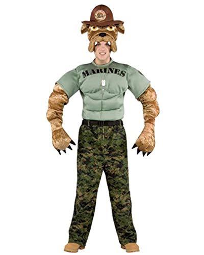 Master Chief Dog Costumes - Rasta Imposta Chesty The Marine Bulldog