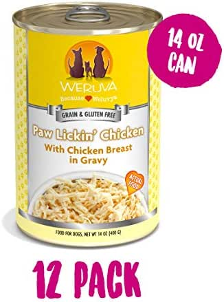 Weruva Grain-Free Canned Dog Food, 14oz Can (Pack of 12)