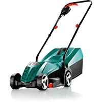 Bosch Rotak 32 Grasmaaier, 1200 W, Opvangbak 31 l, Maaibreedte: 32 cm, Maaihoogte: 20-60 mm, Groen en Zwart