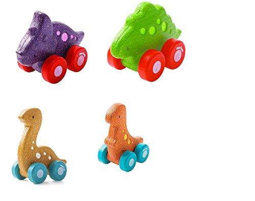 Plan Mini Vehicles Dino Car- Trio - Plan Toys Dino Car