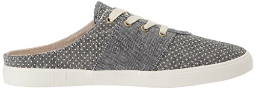 Chica Roxy Shoe Women's White Black Sneaker on Slip gppORnwZq