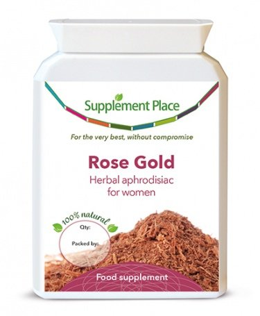 Supplement Place Rose Gold (Female Viagra), 60 Capsules
