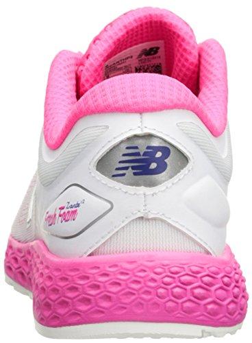 New Balance Frsh Fm Zantv2 Br - Zapatillas de running Mujer White/Amp Pink