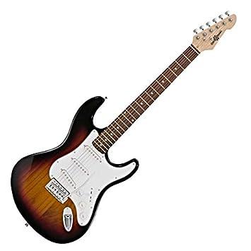 Guitarra Eléctrica LA de Gear4music Sunburst: Amazon.es: Instrumentos musicales