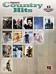 Hal Leonard Today's Country Hits For Easy Piano (Cry Wanna Music Sheet)