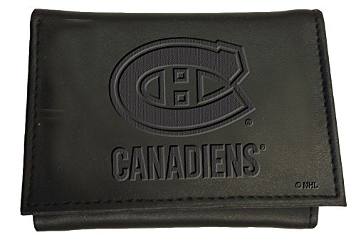 Team Sports America Leather Montreal Canadiens Tri-fold Wallet