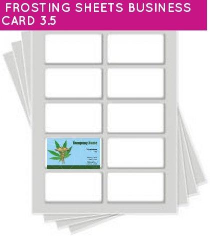 Price comparison product image Kopykake Frosting Sheets 24 sheets per pack (FROSTING SHEETS BUSINESS CARD 3.5)
