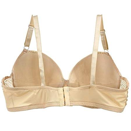 Amazon.com: GuiZhen DAINAFANG Plus Size Women Lingerie Push Up Lace Bra Large Ladies for Deep Underwear V Luxury Brasilia 44-50 D DD E: Garden & Outdoor