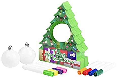 treemendous christmas tree ornament decorating kit for kids ages 6 top rated craft activity - Christmas Tree Decoration Kits