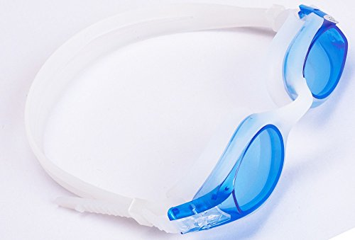 Aguaphile Junior Prescription Swimming Goggles for Kids and Early Teens, Soft and Comfortable, Anti-Fog UV Protection - Best Kids Myopia Swim Goggles - Compare to Speedo - Nearsighted Swim Goggles