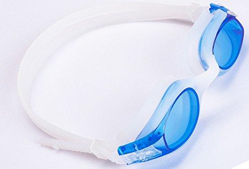 Aguaphile Junior Prescription Swimming Goggles for Kids and Early Teens, Soft and Comfortable, Anti-Fog UV Protection - Best Kids Myopia Swim Goggles - Compare to Speedo - Nearsighted Swim - Prescription Refund