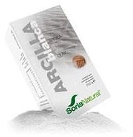 Arcilla Blanca 250 gr de Soria Natural: Amazon.es: Salud y cuidado personal