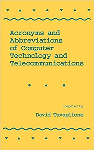 Acronyms and Abbreviations of Computer Technology and