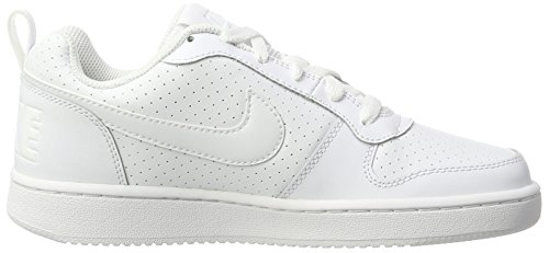 Basketballschuhe Court Blanc Wmns Low Borough Nike Damen Weiß Blanc Blanc qgTxXnp