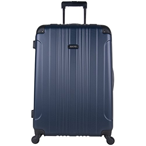 (Kenneth Cole Reaction Out Of Bounds 28-Inch Check-Size Lightweight Durable Hardshell 4-Wheel Spinner Upright Luggage)
