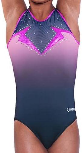 Quatro Short de gymnastique pour fille en acier 91,4 cm Taille M 13-15 ans