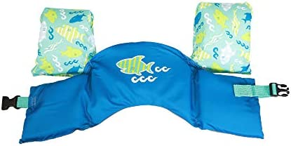 Green Octopus SwimWays Sea Squirts Life Jacket Swim Trainer USCG Approved