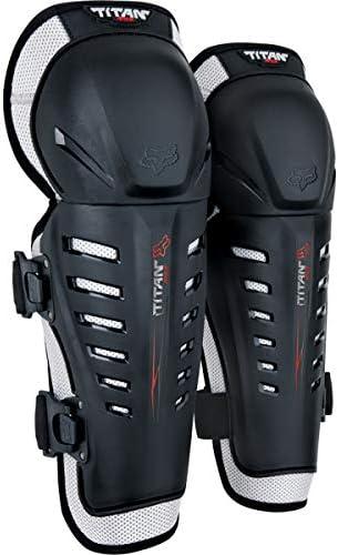 Fox Knee Protector Junior Titan Race Black Os Auto