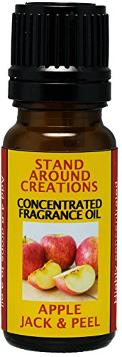 (Stand Around Creations Concentrated Fragrance Oil - Apple Jack & Peel - Apples and Oranges Blended w/Cinnamon, Clove, Nutmeg. Infused w/Essential Oils. (.33 fl.oz.))